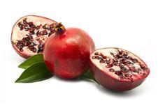 Free Fresh Pomegranates Royalty Free Stock Photography - 20036567