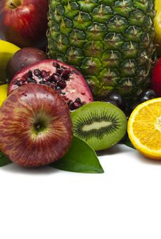 Free Isolated Fruit Composition Royalty Free Stock Photos - 20036868