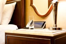 Luxury Hotel Bedroom Stock Image
