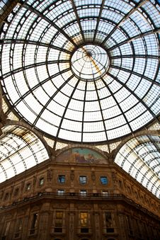 Free Milan - Luxury Gallery Royalty Free Stock Images - 20037369