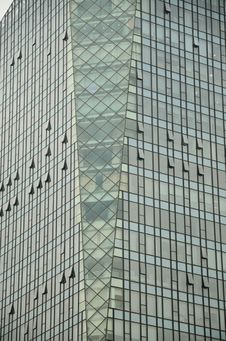 Free Exterior Surface Of Modern Office Building Stock Image - 20037731