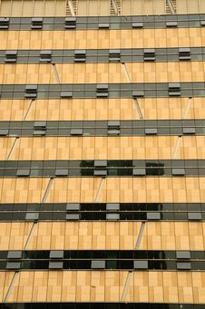 Free Lines And Shapes Of Modern Office Building Stock Images - 20037734