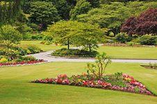 Free Garden Park In Spring Royalty Free Stock Photos - 20037808