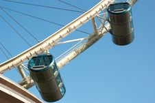 Free Capsules Of Singapore Flyer Royalty Free Stock Photography - 20037987