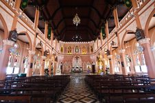 A White Church In Thailand