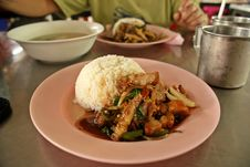 Thai Fast Food Stock Photography