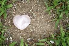 Free Heart On Ground Stock Photography - 20038252