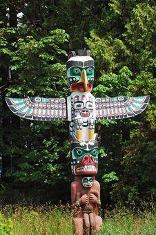 Free Colorful Totem Pole Stock Photos - 20038373