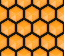 Free Hexagonal Seamless Pattern Stock Photo - 20038690