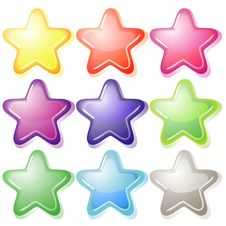Free Set Of Jelly Stars Stock Photo - 20039480