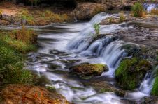 Free Colorful Scenic Waterfall In HDR Royalty Free Stock Image - 20039856