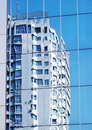Free Dwelling House. Reflexion In A Mirror Wall Royalty Free Stock Image - 20042976