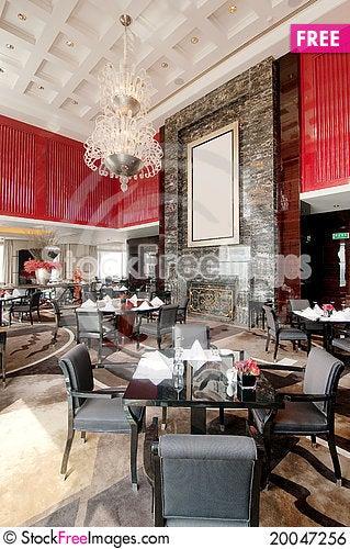 Free Restaurant Royalty Free Stock Image - 20047256