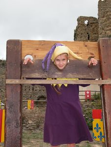 Free Girl In Stocks Royalty Free Stock Photography - 20041137