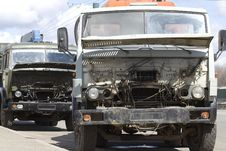 Free Repair Freight Car Stock Image - 20043041