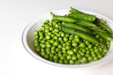 Free Green Peas Royalty Free Stock Photography - 20043057