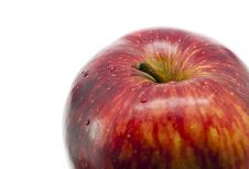 Free Red Apple Closeup Stock Image - 20043111