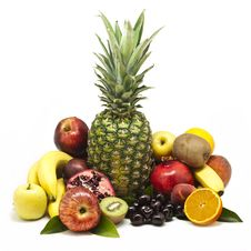 Free Large Fruit Still-life Stock Photo - 20043440