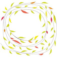 Free Background With Flowers. Vector Illustration Royalty Free Stock Image - 20043556