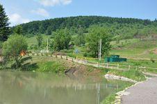 Free Village In Carpathian Mountains Stock Photos - 20043563