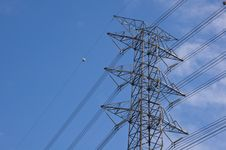 Free Electric Tower Royalty Free Stock Photos - 20043578