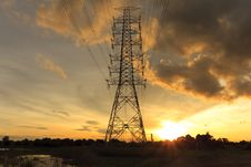 Free High Voltage Power Pole Stock Photos - 20043713