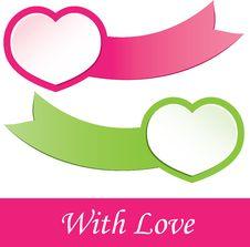 Free Valentine S  Heart.  Illustration Royalty Free Stock Photo - 20043915