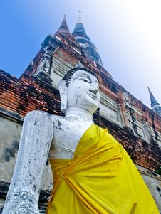 Free Temple Of Ayutthaya In Thailand Stock Photo - 20044900