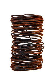 Free Bundle Of Iron Rusty Wire. Stock Photos - 20045083
