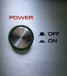 Free Power Button On-Off Royalty Free Stock Photography - 20045317