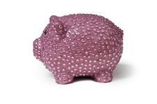 Free Pink Piggy Bank Royalty Free Stock Image - 20045546