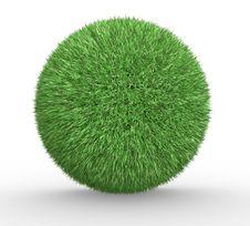 Free Sphere Of Grass Stock Image - 20045661