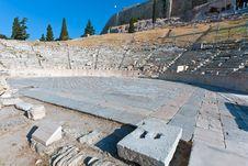 Free Theater Of Dionysos, Acropolis, Athens, Greece Stock Image - 20045771