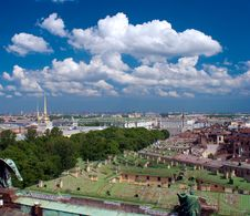 Free Aerial View Of Hermitage, Sankt-Petersburg Royalty Free Stock Photos - 20045798