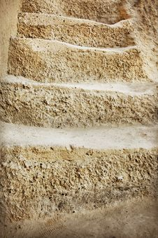 Old Stone Stairs Stock Image