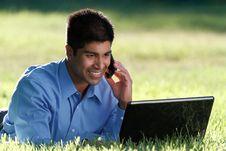 Free Happy Businesssman Royalty Free Stock Photos - 20045968
