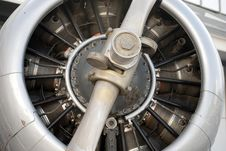 Free Detail Of a Propeller Royalty Free Stock Images - 20046329