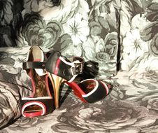 Free Stiletto Vintage Shoes Royalty Free Stock Image - 20046696