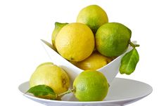 Free Lemons In A Bowl Royalty Free Stock Photo - 20047075