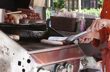 Hot Dog Vendor Stock Images