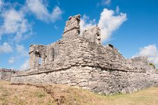 Free Tulum Maya Ruins Yucatan Peninsula,  Mexico. Stock Photos - 20047673