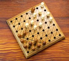 Chinese Checkers Board Stock Photography
