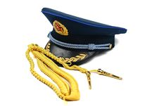 Free Cap And Ribbon Of Chinese Air Force Royalty Free Stock Image - 20048736