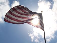 Free Star Spangled Banner Royalty Free Stock Image - 20048816