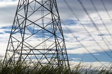 Free Electricity Transmission Tower Stock Photography - 20049102