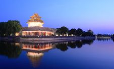 Free Night Scene Of Forbidden City China Royalty Free Stock Photo - 20049465