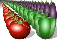 Free Vegetable In Line Royalty Free Stock Images - 20049649