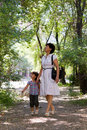 Free Grandmother And Granddaughter Stock Photography - 20053262