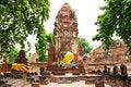 Free Ruins Of Wat Mahathat Stock Photo - 20055080