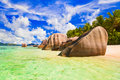 Free Beach Source D Argent At Seychelles Royalty Free Stock Photography - 20055937